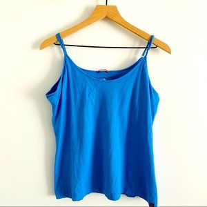 The North Face Baby Blue Athletic Tank Top